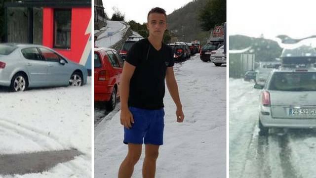 Nezapamćena tuča u Plominu: Sve se bijeli, kao da je  snijeg
