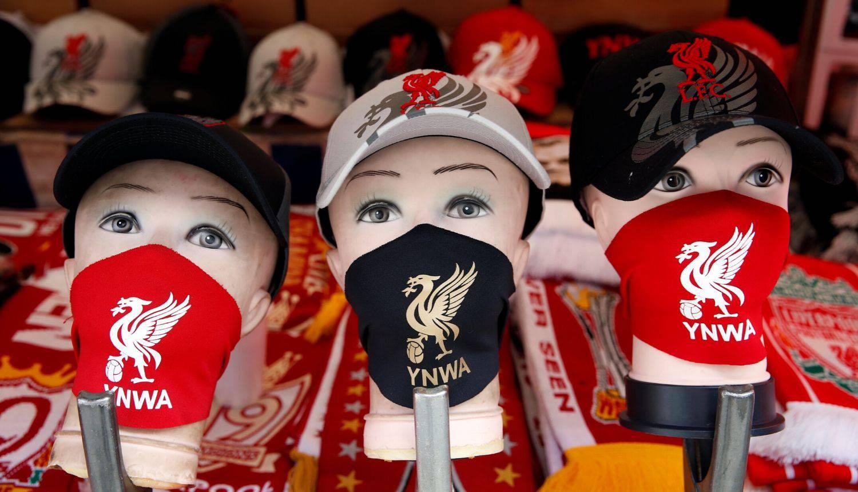 U Liverpoolu prodaju zaštitne maske za vatrene navijače