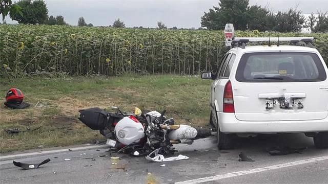 Poginuo motociklist (60) u Trpinji: Vozač automobila (72) oduzeo mu je prednost