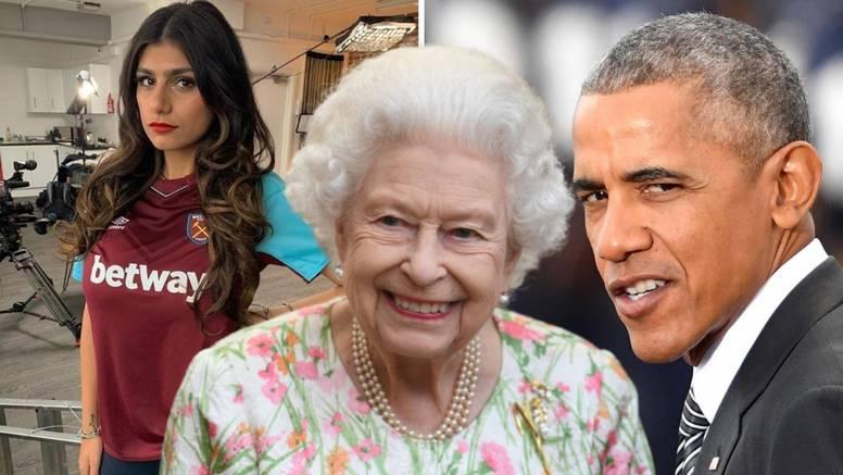 Oni će navijati za West Ham protiv Dinama: Mia Khalifa, Obama, kraljica Elizabeta...