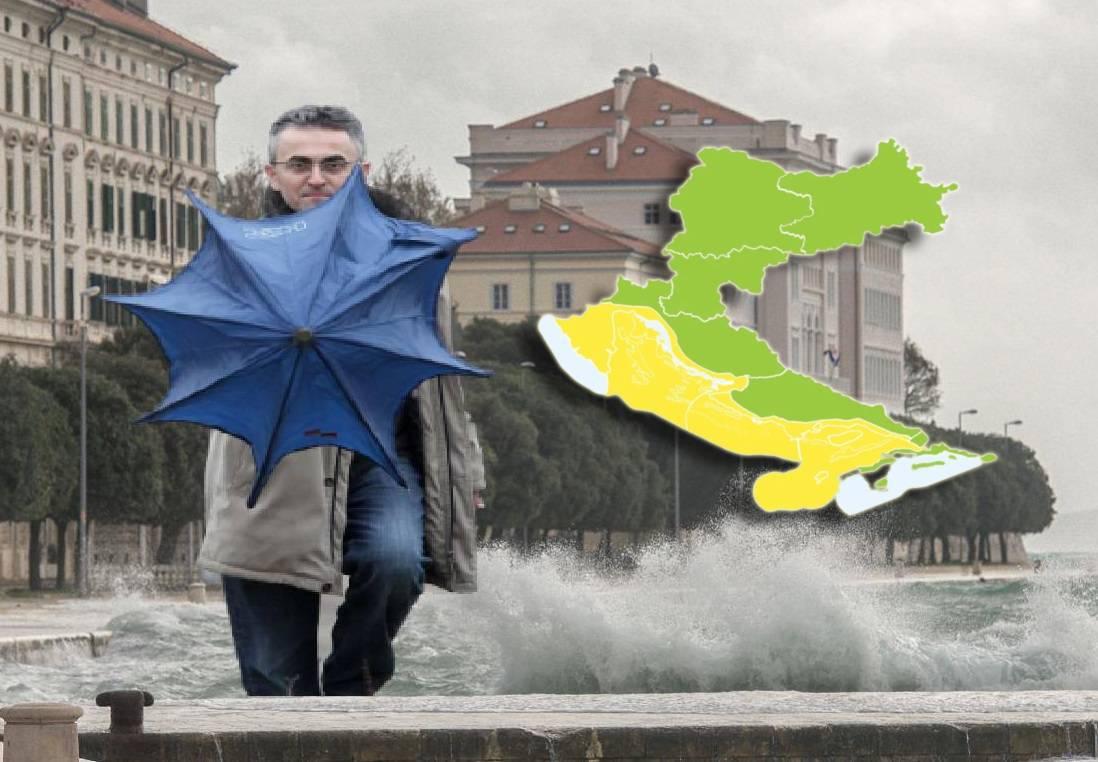'Studeni će biti ekstreman': Na obali i dalje prijeti olujno jugo!