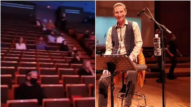 Koncert Massima u Lisinskom se prenosio uživo: 'Počašćen sam'