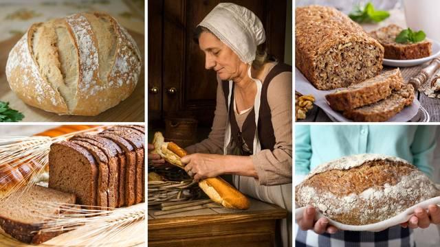 10 odličnih recepata za domaći kruh: Od integralnog i seljačkog do proteinskog i bezglutenskog