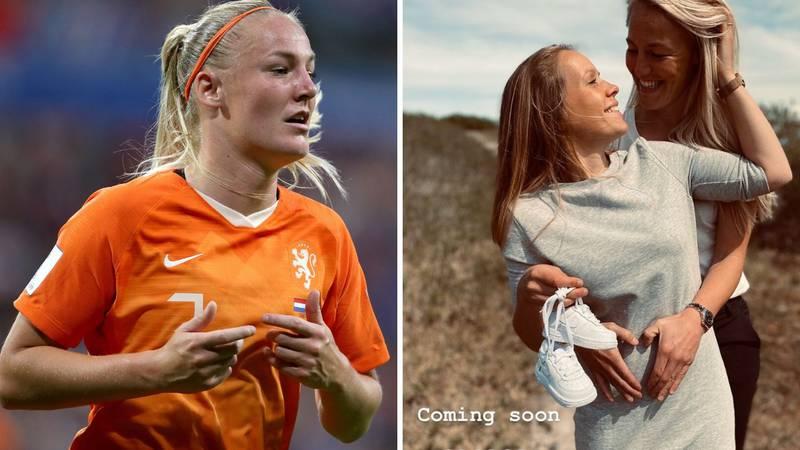 Nizozemska nogometašica je objavila radosnu vijest: Ona i partnerica uskoro će dobiti bebu