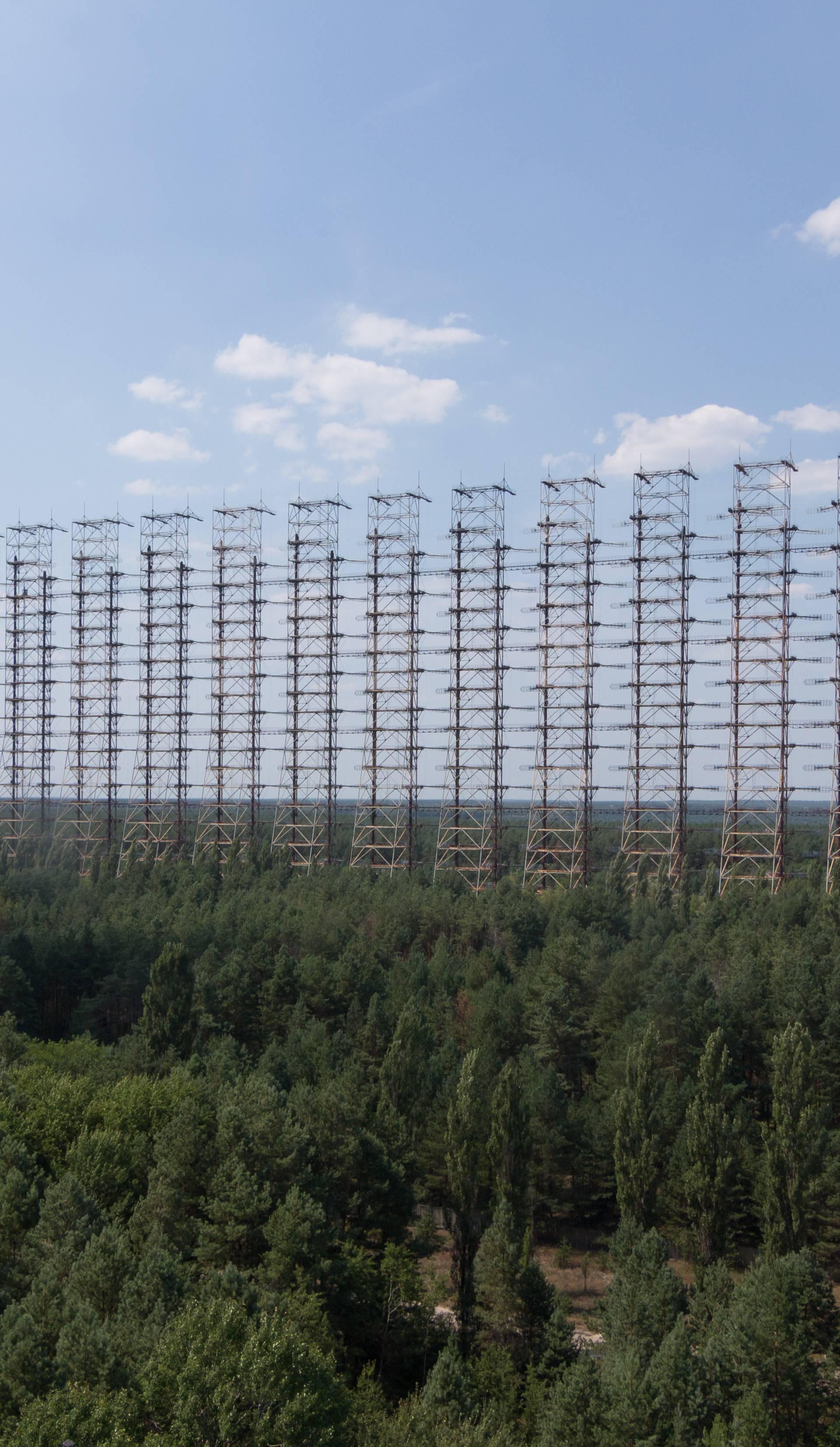 Radar Duga kod Černobila