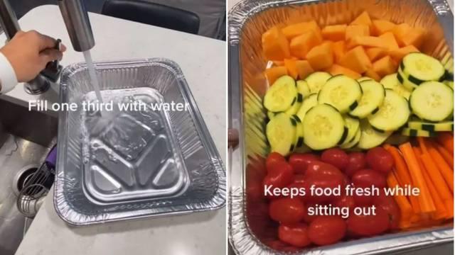 Trik uz koji će namirnice dulje ostati svježe kada ih narežete
