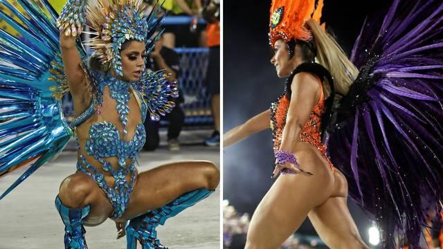 Najbolje tete brazilske štafete: Rio prepun golišavih ljepotica