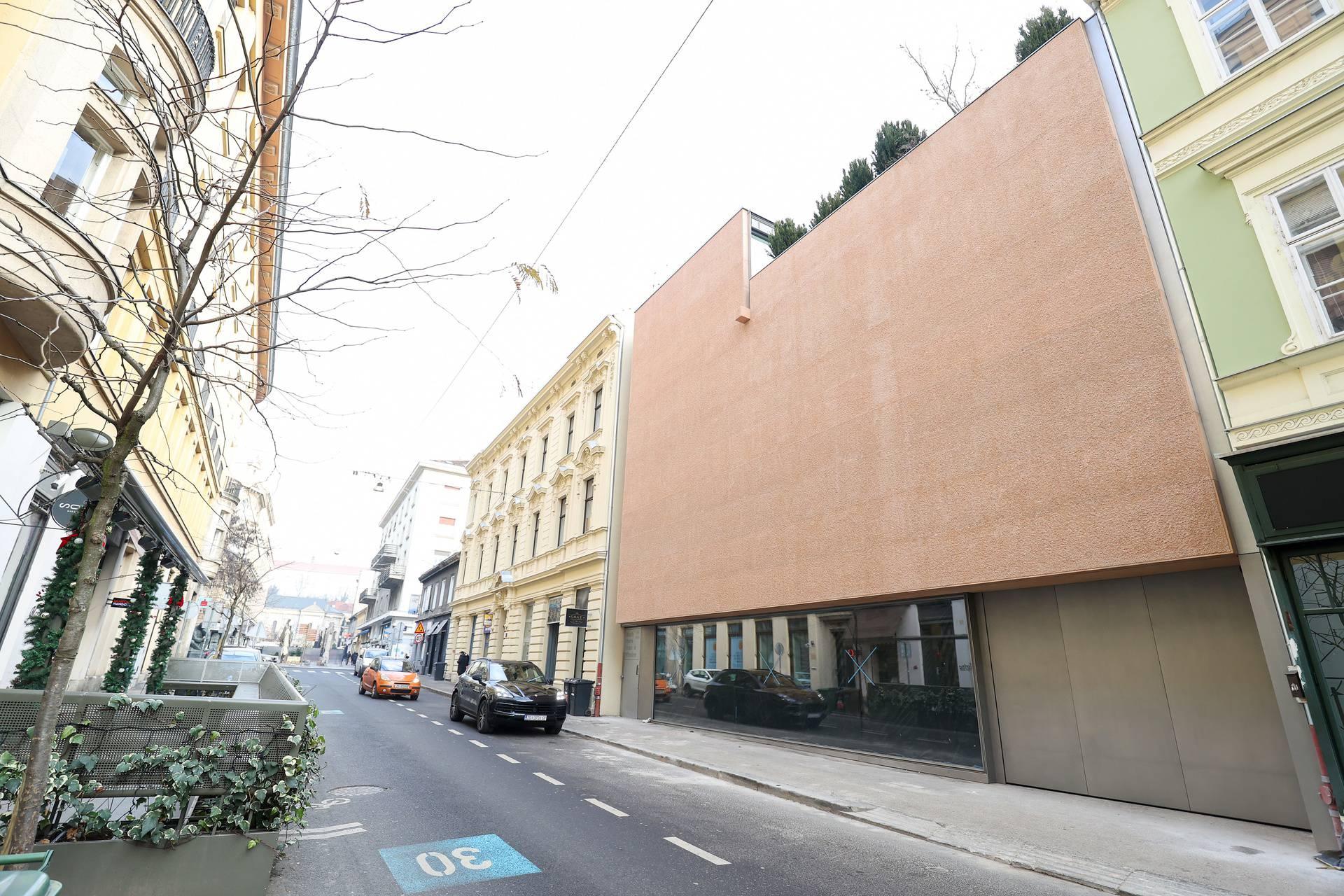 Zagreb: Prvi puta nakon dugo vremena gradnje vidi se pravo pročelje na viliAnte Vlahovića
