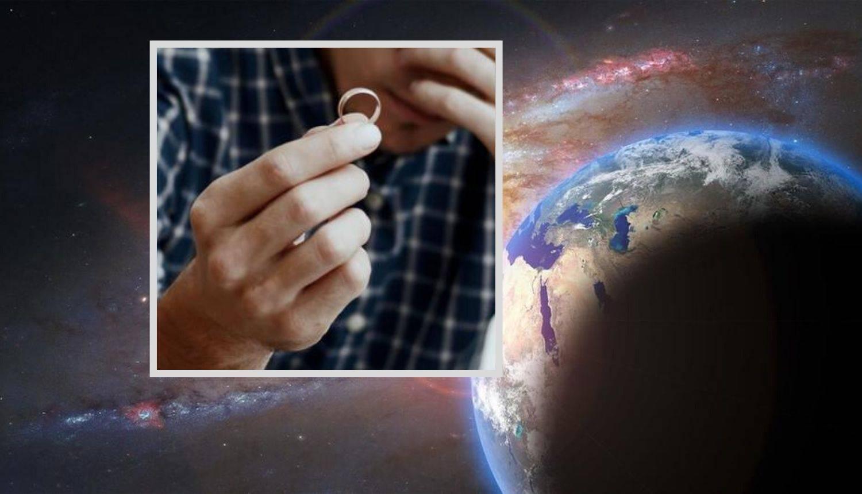 Astronaut Ken danima je lovio svoj vjenčani prsten u svemiru