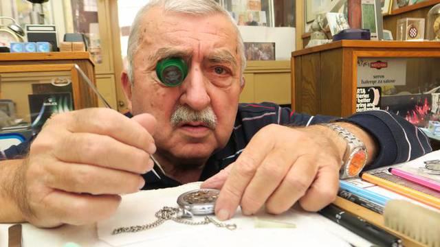 Preminuo je Zlatko Ivulić, legendarni splitski urar i najveći poznavatelj splitske Peškarije