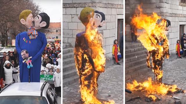 Podignuta je optužnica protiv Milivoja Đuke: Organizirao je spaljivanje lutke gay para