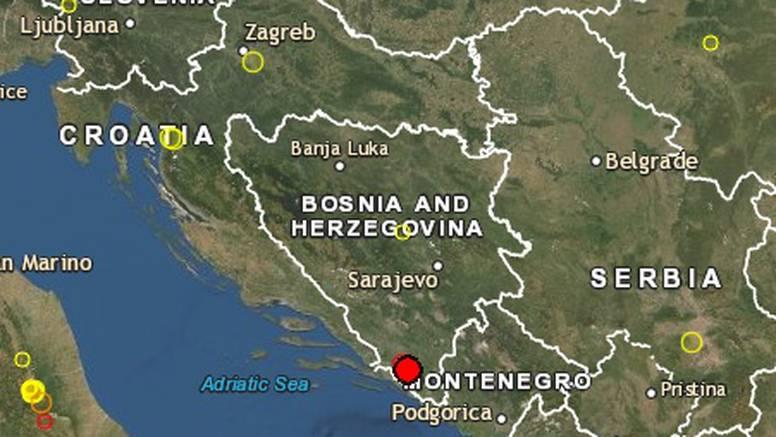 Jak potres pogodio BiH, treslo se od Makarske do Dubrovnika