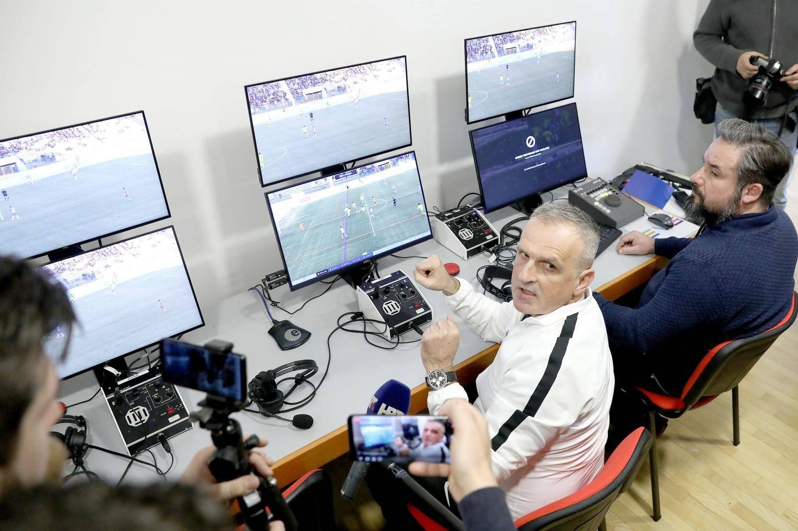 Zagreb: VAR tehnologija kreće u nastavku prvenstva HNL-a