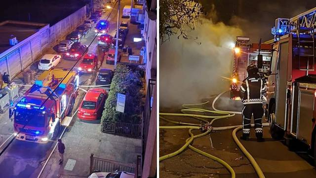 Zapalio se restoran u Zagrebu: Kuhari su pobjegli na vrijeme
