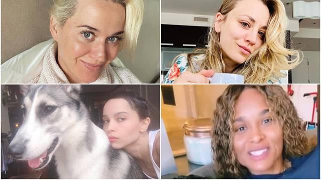 Celebrityji objavljuju svoje slike na Instagramu bez make-upa