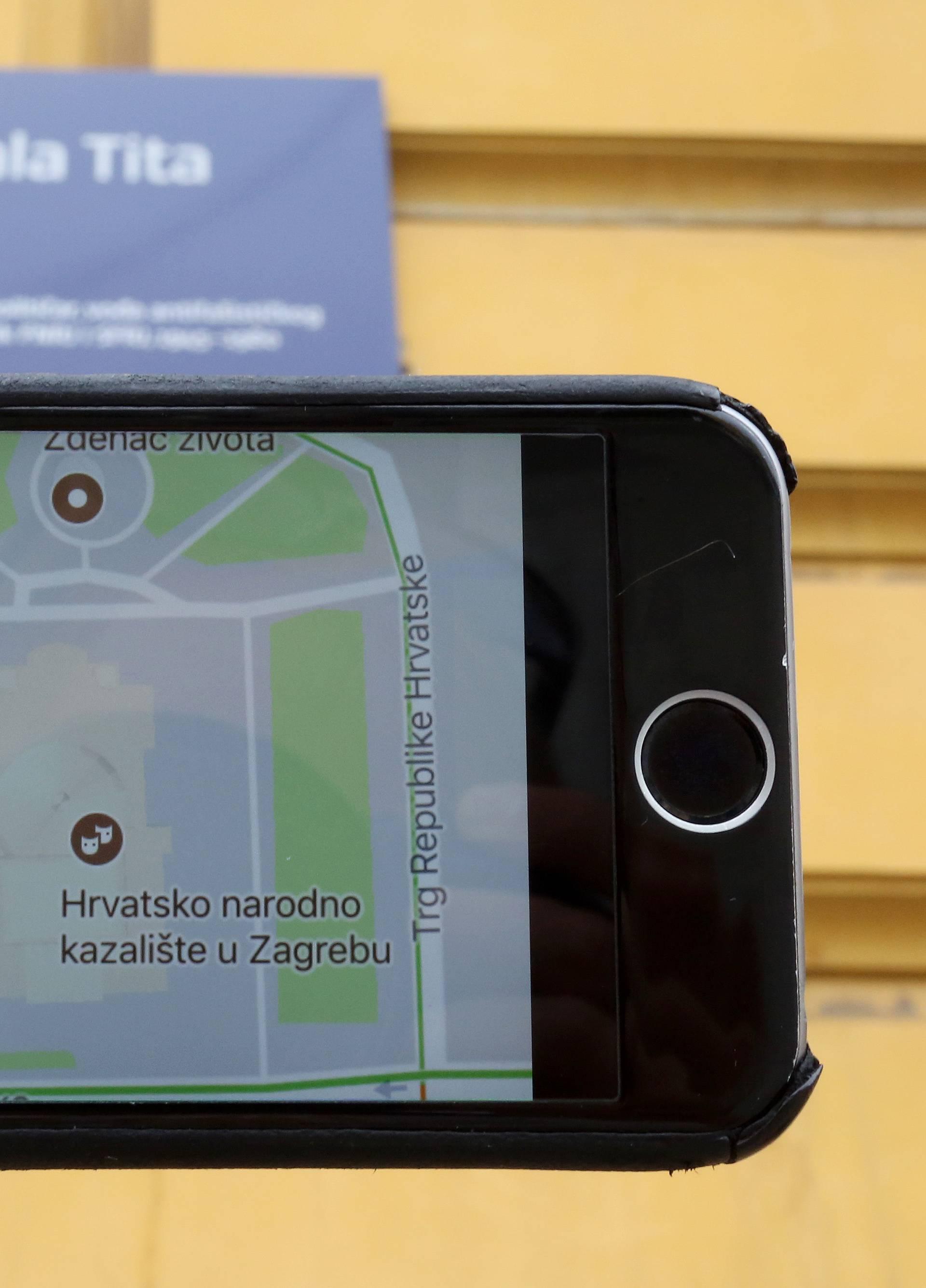 Google je bacio Tita s karte i upisao Trg Republike Hrvatske