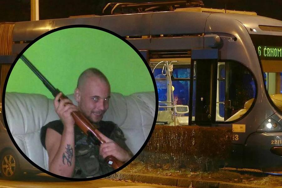 Priveli napadača iz tramvaja: 'Naci Đuro' je ljubitelj oružja