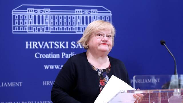 Zagreb: Anka Mrak Taritaš i Goran Beus Richembergh na konferenciji za medije