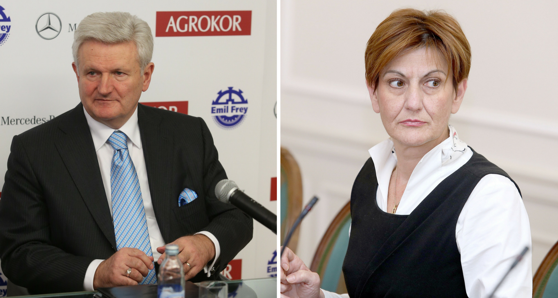 Dalić je provjeravala mailove: 'Nije bilo prijetnji Todoriću...'