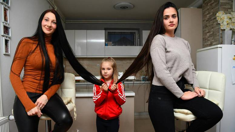 Matovilke iz Virovitice: 'Kosa nam je duga 110 centimetara'