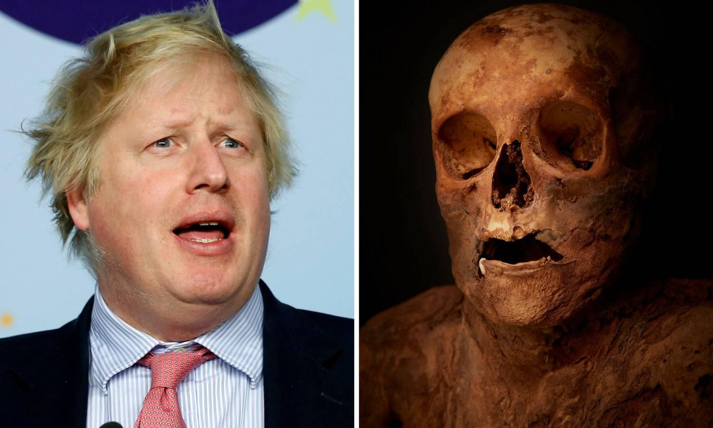 Johnson u rodu sa švicarskom mumijom: 'Jako sam uzbuđen'
