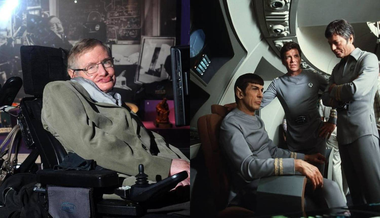 U 'Zvjezdanim stazama' jedino Stephen Hawking glumio sebe