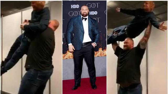 Thor je držao Eda Sheerana u zraku: Teži je od njega 111 kila