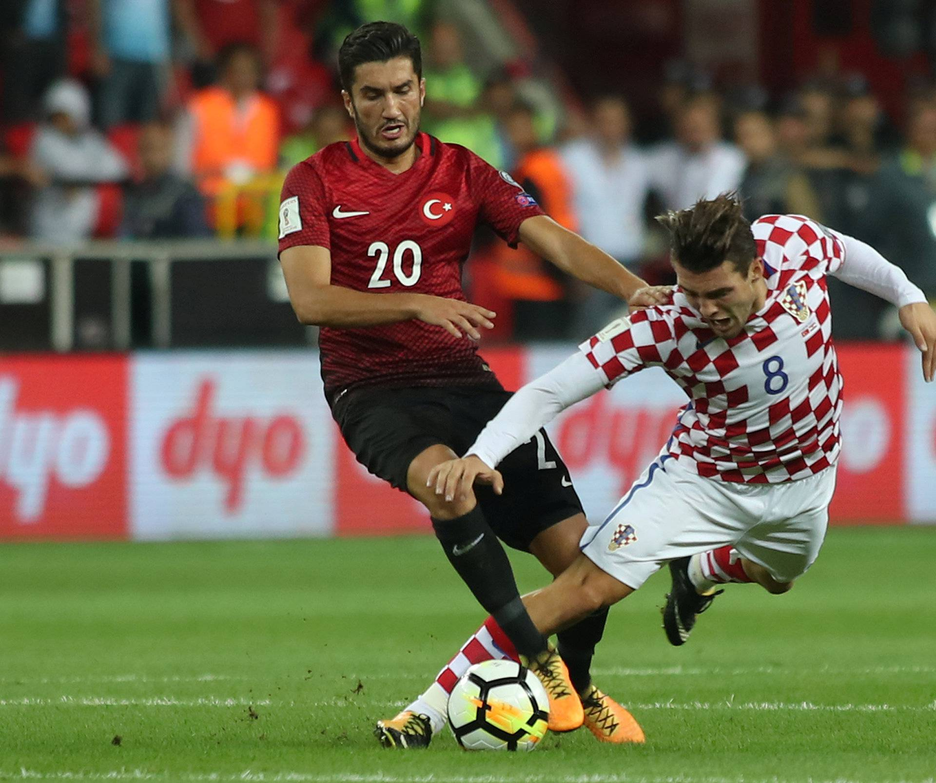 2018 World Cup Qualifications - Europe - Turkey vs Croatia