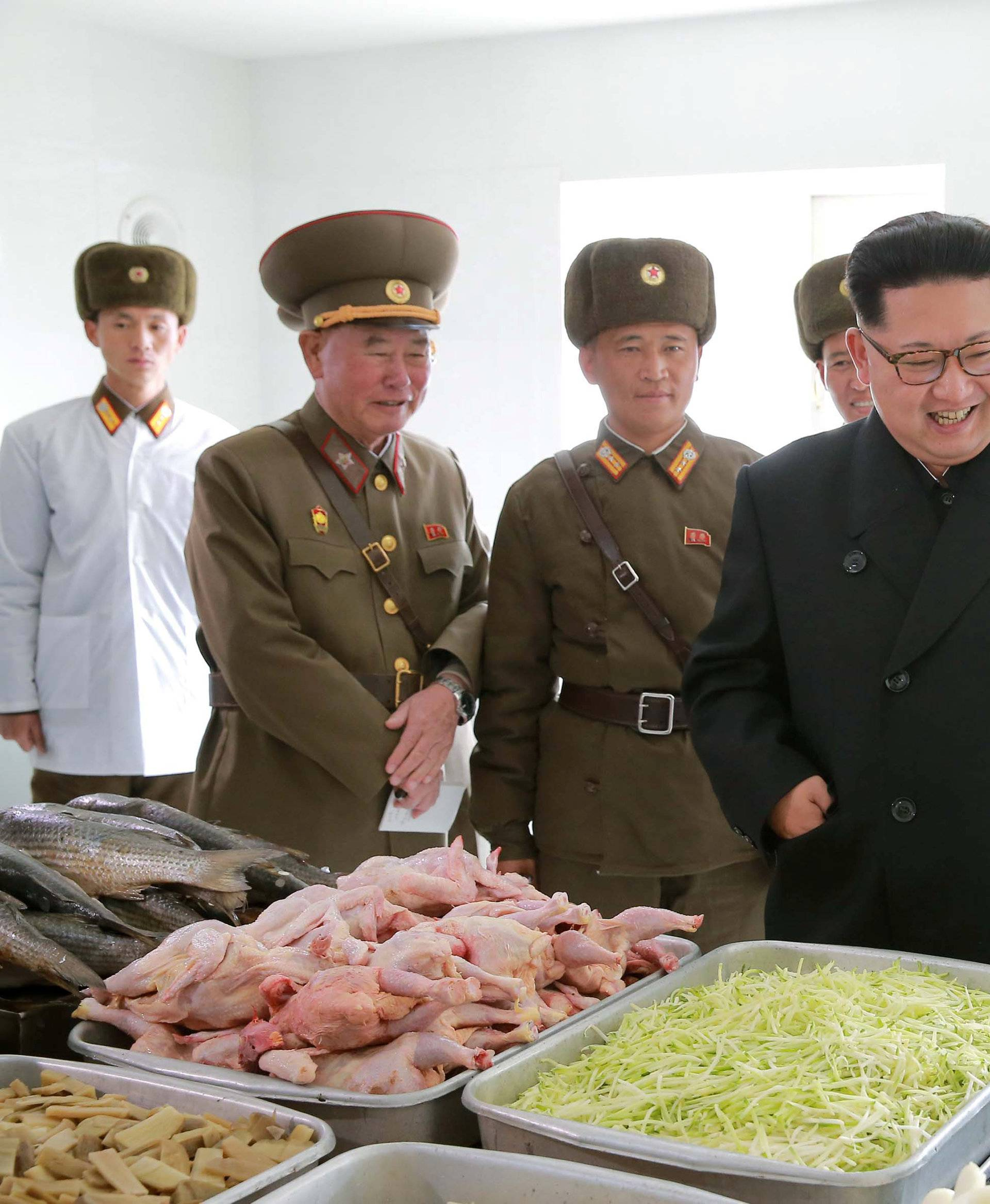 North Korean leader Kim Jong Un inspects a special operation battalion under KPA Unit 525 in this undated photo released by North Korea's Korean Central News Agency (KCNA) in Pyongyang