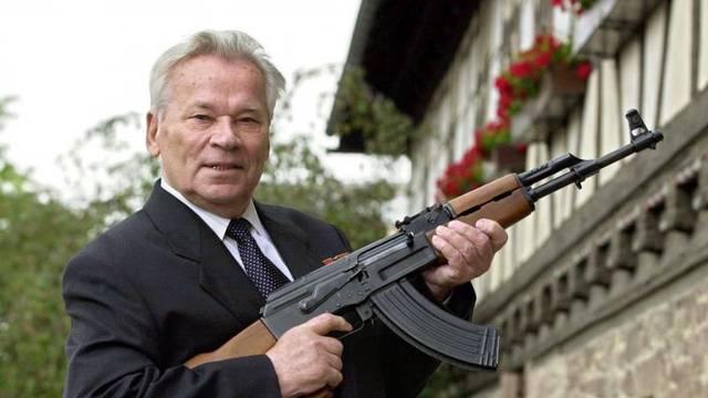 Kalashnikov opens weapon exhibition in Germany