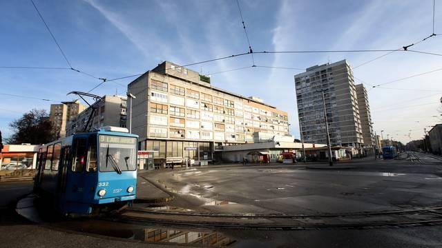 Zagreb: Okretište tramvaja na Ljubljanici