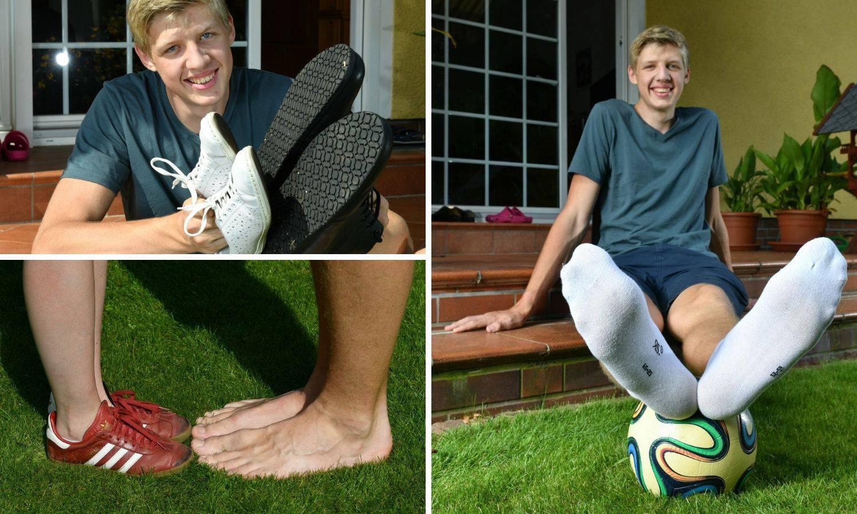 Noga za Guinnessa: Lars ima stopalo dugo 35 centimetara