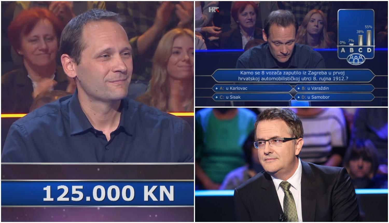 Odustao i uzeo 125.000 kuna: To pitanje ni publika nije znala