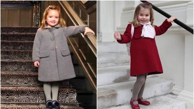 Mala Ecclestone (3) kopirala je princezu Charlotte (2) za vrtić