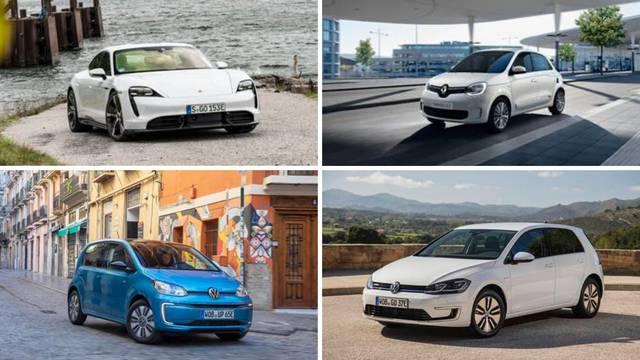 Električni auti za koje možete dobiti poticaje do 70.000 kuna