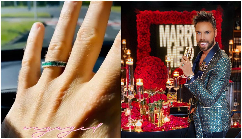 Marko Grubnić se zaručio: Sreća je u životu voljeti i biti voljen...