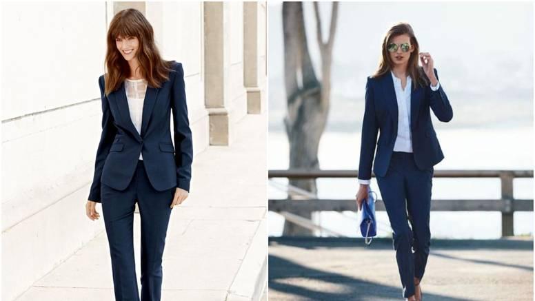 Uvijek u modi: Odijelo u tamno plavoj za sve poslovne prilike