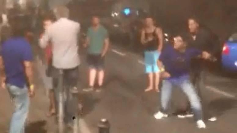 Potukao se: Pogledajte kako Maradona divlja u Dubrovniku