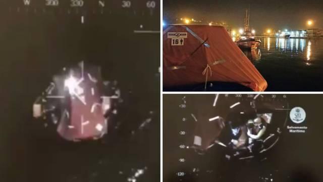 Objavili snimke spašavanja: Španjolci iz mora izvukli dvoje Hrvata, potonula im jedrilica