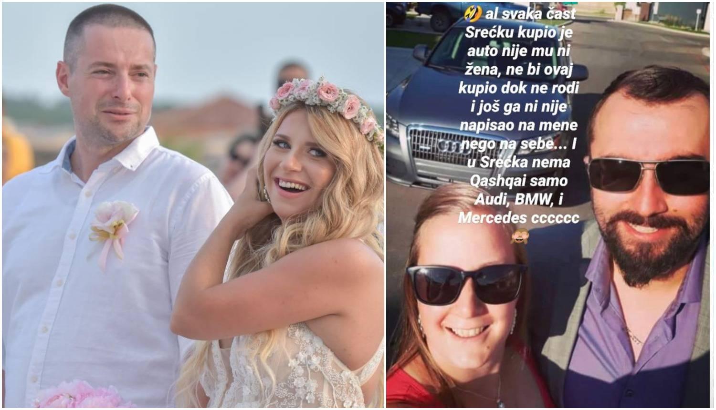 Valentina Tijan hvali Srećka: 'Blago Antoniji, ne bi moj meni tako kupio auto dok ne rodim'