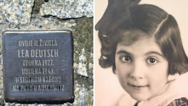Postavljen 'kamen spoticanja' ispred kuće hrvatske Shirley Temple: Ubili je u Auschwitzu