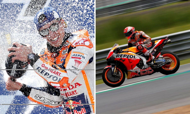 Čudesni Marquez: Oporavio se od pada i uzeo naslov prvaka!