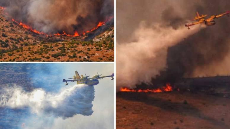 Nevjerojatne fotografije iz srca vatrenog kaosa: 'Nismo spavali, dvorište nam je puno pepela'