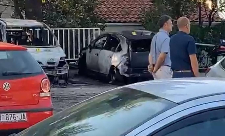 Požar pet automobila u Dubrovniku bio je podmetnut