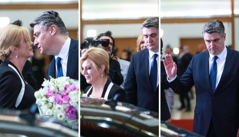 Pogledajte kako je Milanović ispratio Kolindu: Buket za kraj