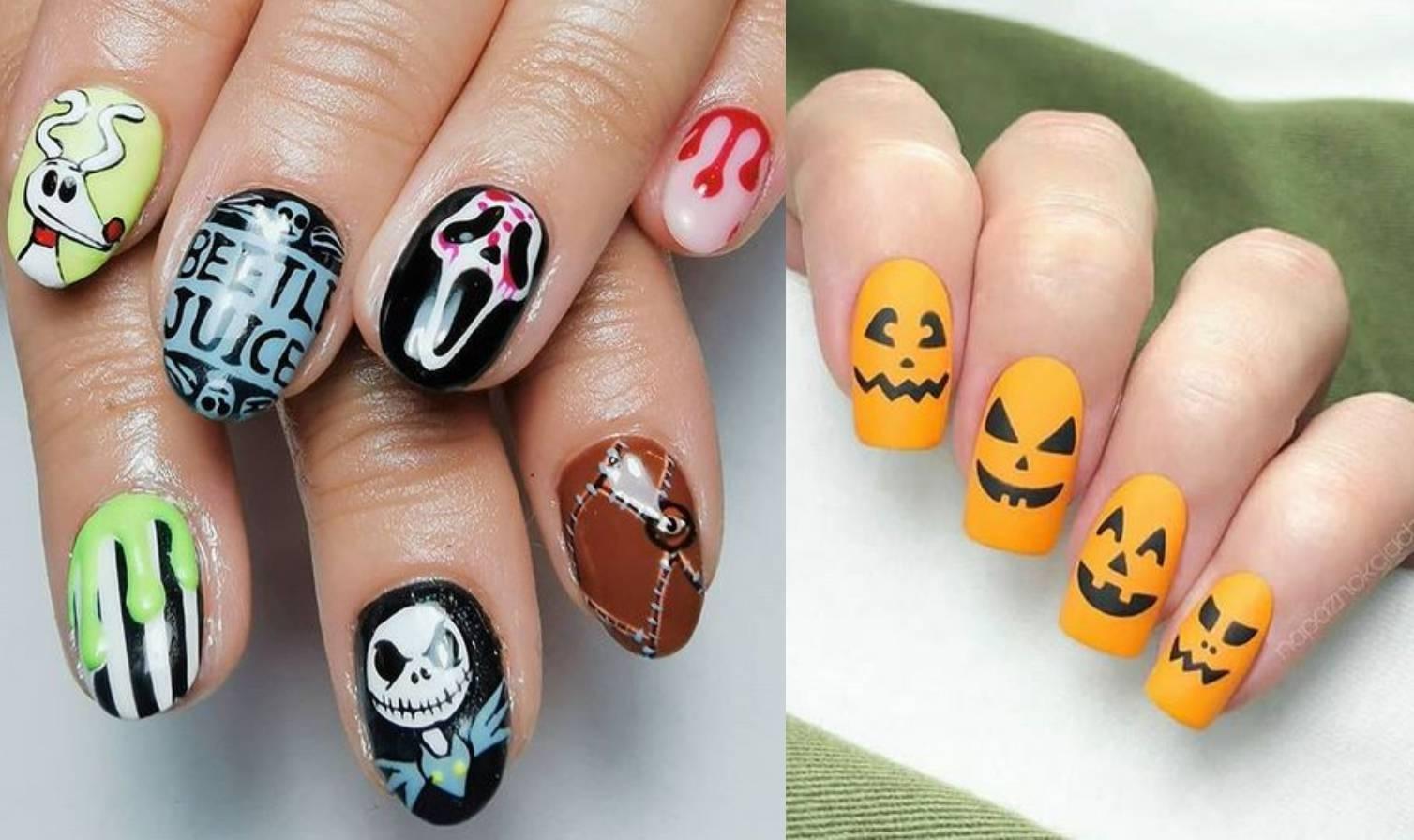 Kreativne manikure: 10 ideja za nokte na temu Halloweena