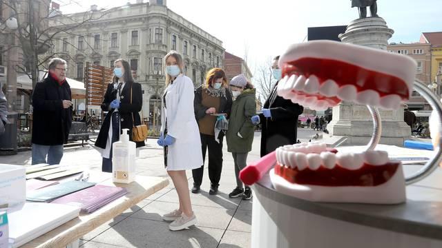 Studenti stomatološkog fakulteta u Zagrebu obilježili Svjetski dan oralnog zdravlja