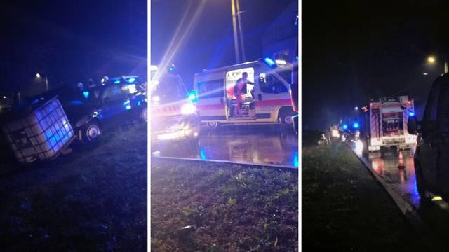 U sudaru dva automobila kod Dugog Sela troje ozlijeđenih