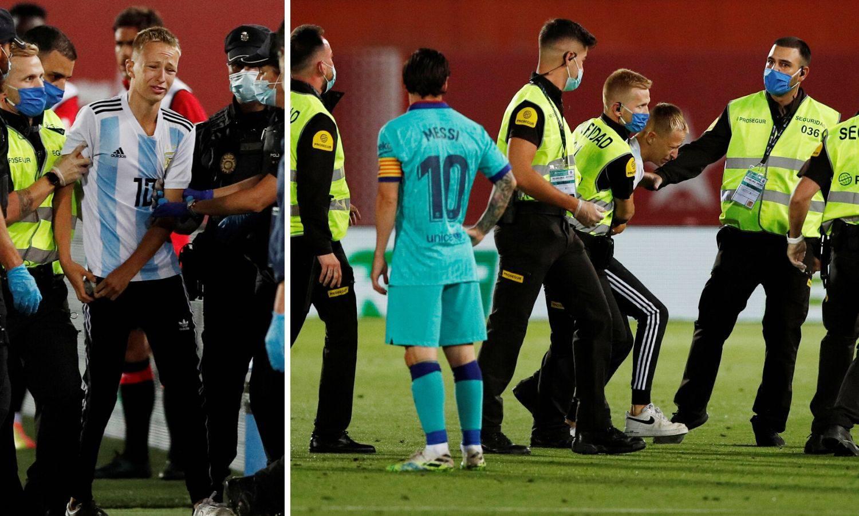 Mladić upao na utakmicu Barce pa ga Messi otkantao: 'Toliko sam čekao, a nije se htio slikati'