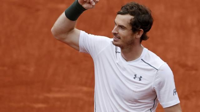 Tennis - French Open Mens Singles Semifinal match - Roland Garros - Stan Wawrinka of Switzerland vs Andy Murray of Britain